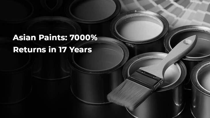 Asian Paints: 7000% returns in 17 years- Smart Money